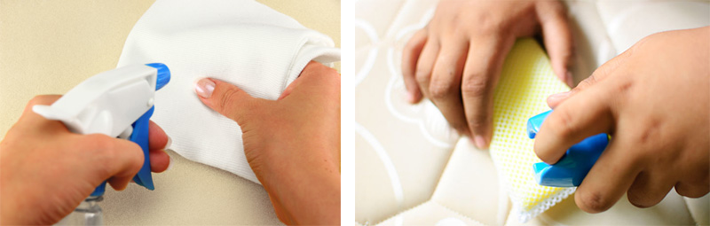 cleaning memory foam pillow
